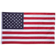 Wholesale lot of (48) 5' x 3' 100% Oxford Nylon Embroidered USA Flag