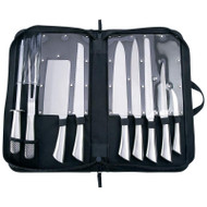 Wholesale lot of (8) Slitzer 10pc Professional Surgical Stainless Steel Cutlery Set