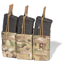 ATS Tactical Gear Slimline M4 Triple Shingle in Multicam