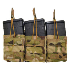 ATS Tactical Gear Slimline Triple 7.62 Shingle in Multicam