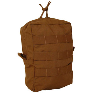 ATS Tactical Gear Zippered Utility Pouch in Coyote Brown