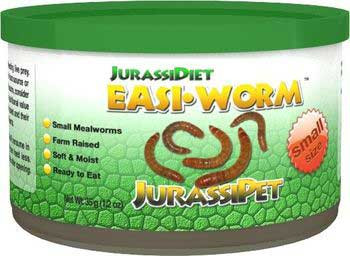 Jurassi-diet Easi-worm Small 12 Oz-93830
