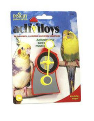 Activitoy Bird Toy Roulette Wheel