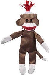 Jw Pet Crackle Heads Canvas Monkey Large 24ea