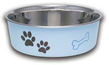 Loving Pets Bella Bowl Murano Blue Extra Large