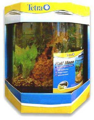 Tetra Half Moon Aquarium Kit 10 Gal {bin-B}