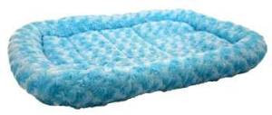 "Dreamzone Fleece Bed Blue 24x19"" {bin-1}"