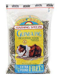 Vitakraft/sunseed Guinea Pig Pellets 6/2.5 Lb. {bin-1}
