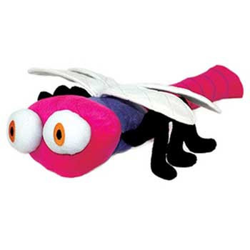 Mighty Jr. Bug Dragon Fly Pink X {bin-1}