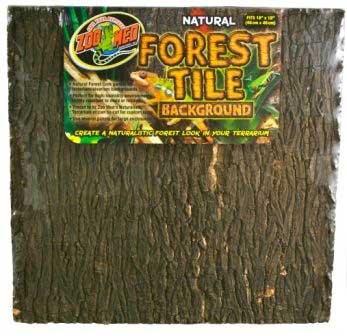 """Zoo Med Natural Forest Tile Background 12x12"""" {bin-1}"""