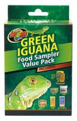 Zoo Med Green Iguana Food Sampler {bin-1}