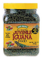 Zoo Med Iguana Juvenile Soft-moist Pellets 20 Oz. (jar) {bin-B}