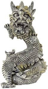 Biobubble Origins Series Stone Dragon Ornament Large {bin-B}