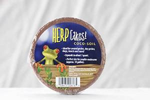 Caribsea Herp Cakes Coco Fiber Disks For Reptiles Amphibians And Insects 1qt {bin-2}