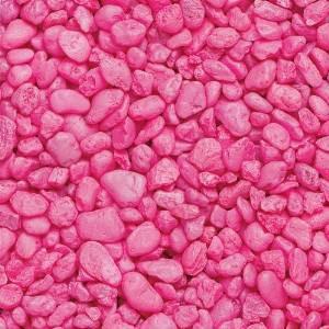 Estes Spectrastone Permaglo Pink Aquarium Gravel 2lb
