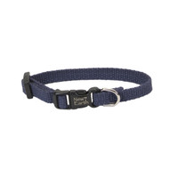 Coastal New Earth Soy Adjustable Collar Indigo 3/8inx6in-8in