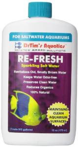 Drtim's Aquatics Re-fresh For Clean Surfaces & Water For Saltwater 16oz