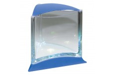 Ista Stylish Betta Tank Display Case With Led Light Blue