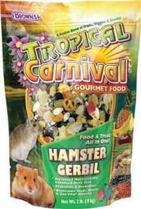 Brown S Tropical Carnival Hamster Food (20-lb Bag)-90595 {bin-1}