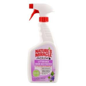 Nature's Miracle Just For Cats Litter Box Odor Destroyer Tropical Bloom 24oz
