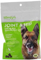 Tomlyn Joint & Hip Chews Senior Dogs 7.67oz {bin-2}
