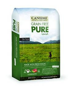 Canidae Grain Free Pure Land With Bison 12 Lb. {bin-1X}