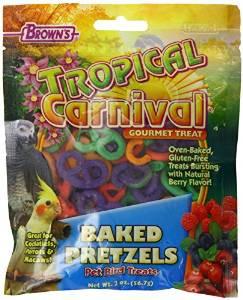 Tropiclean Carn Pretzel Bird Trt 2z {bin-1}