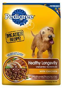 Pedigree Hlth Longevity Dog 15 Lbs {bin-1}