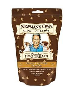 Newman's Own Peanut Butter Formula Treats Small 10 Oz.