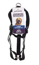 "Petmate 3/4x20-28"" Basic Harness Black {bin-1}"