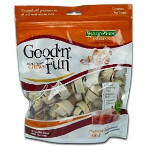 Salix Good N Fun Tri Flavor Chew Mini Bone 18pk