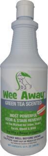 Wee Away Grn Tea Quart 32z {bin-1}
