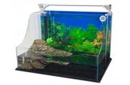 Penn Plax Tank Aquaterrium Sq Md
