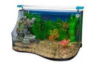 Penn Plax Tank Aquaterrium Curve Lg