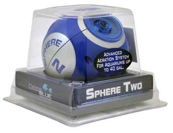 Deep Blue Sphere Two Air Pump-102669