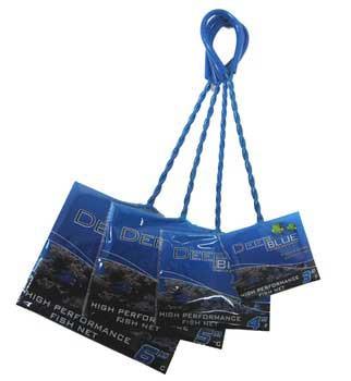 Deep Blue Fish Net 4inx3in Fine-102883