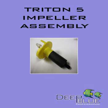 Deep Blue Triton 5 Impeller W/shaft-102670