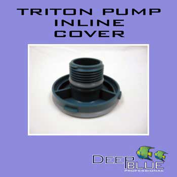 Deep Blue Triton Inline Pump Cover-102665