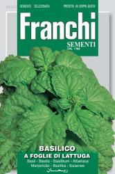 BASIL (Basilico) foglie di lattuga