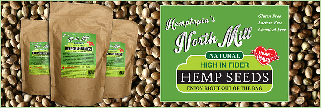 Hemp Seeds - Enjoy right out of the bag
