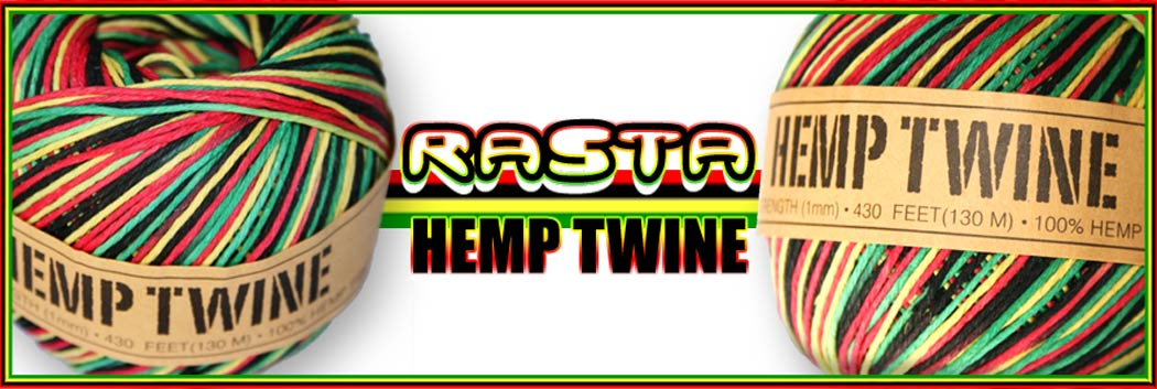 Rasta Hemp Twine - Now Available