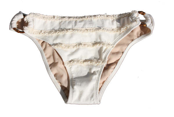 Hemp SwimSuit - White - Bottom