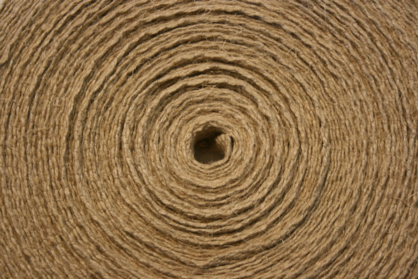 "1"" Romanian hemp webbing top view"