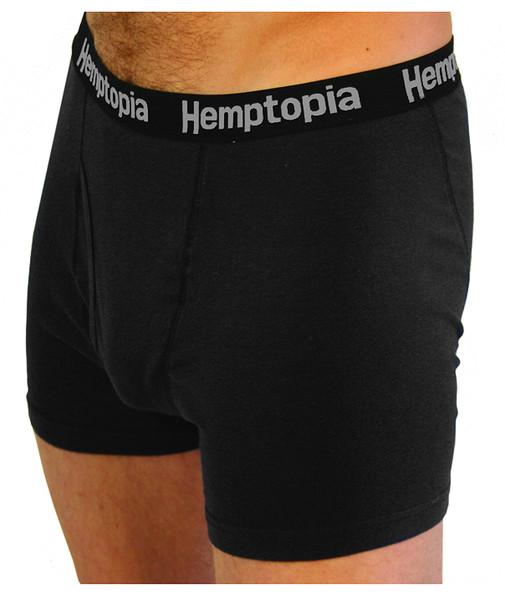 Front view of men's hemp boxer brief
