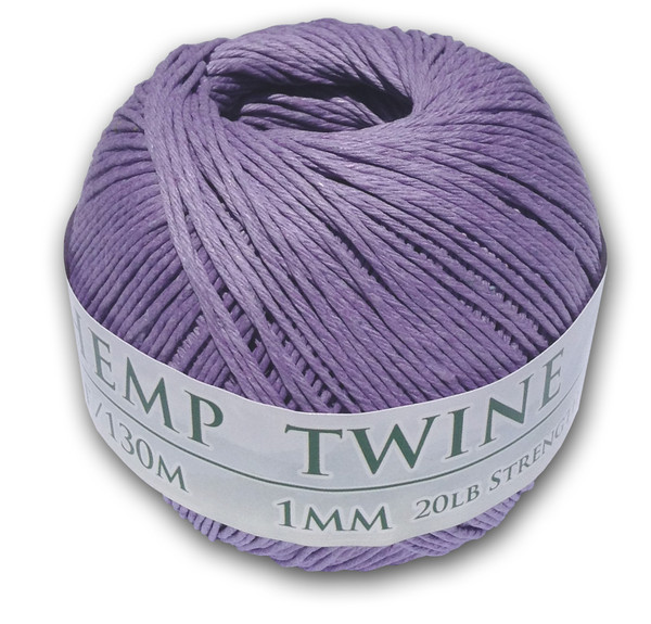 Lavender Hemp Twine