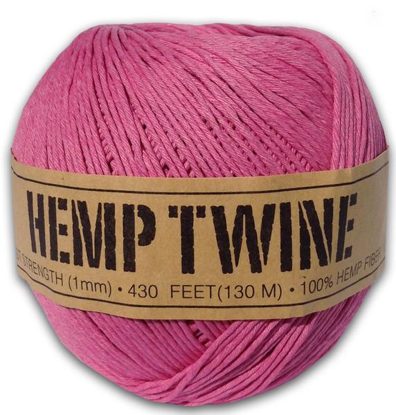 Pink Hemp Twine