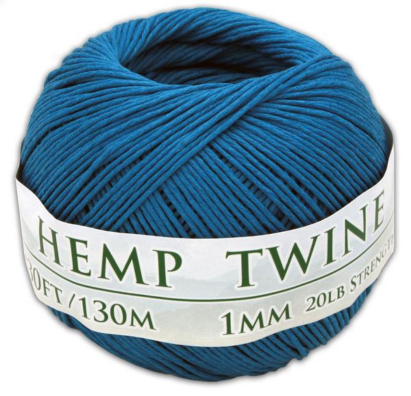 blue hemp twine ball 1mm