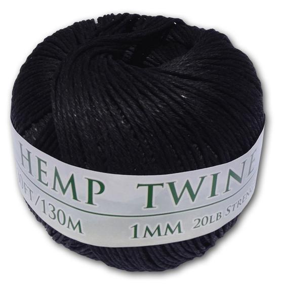 Black Hemp Twine