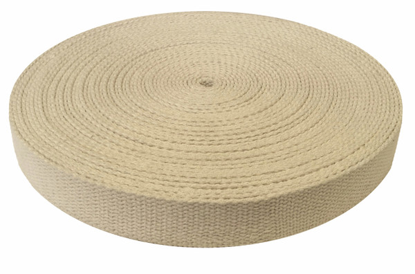 "1.5"" hemp webbing roll (25 yards)"