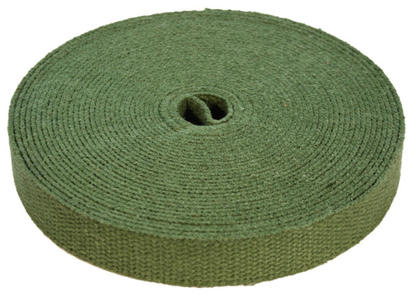 Green Hemp Webbing